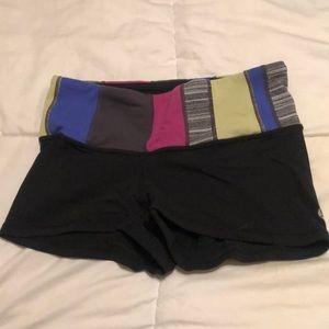 Lululemon workout booty shorts
